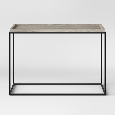 44  Bennington Mixed Material Console Table - Threshold™
