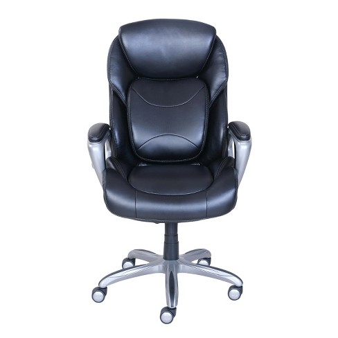 My Fit Executive Office Chair With 360 Motion Support Black Serta Target