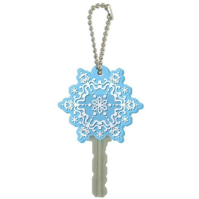 "Monogram International Inc. Disney's Frozen Soft Touch PVC Key Holder: ""Snow Flake"" - image 1 of 1"