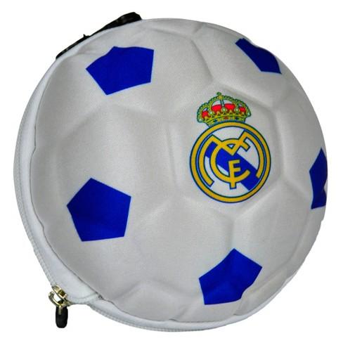 cef7b40871d9 La Liga Real Madrid CF Collapsible Soccer Ball Duffle Bag   Target