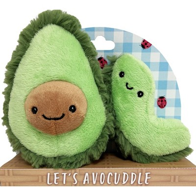 Purely Luxe Avocado Rattle & Crinkle Set