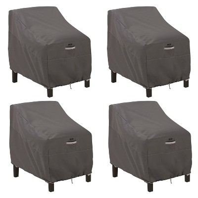 4pk Ravenna Deep Seated Patio Lounge Chair Cover - Classic Accessories