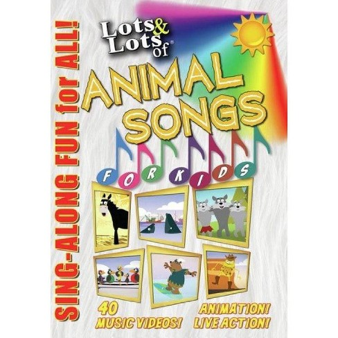 Lots & Lots Of Animal Songs For Kids (DVD) - image 1 of 1