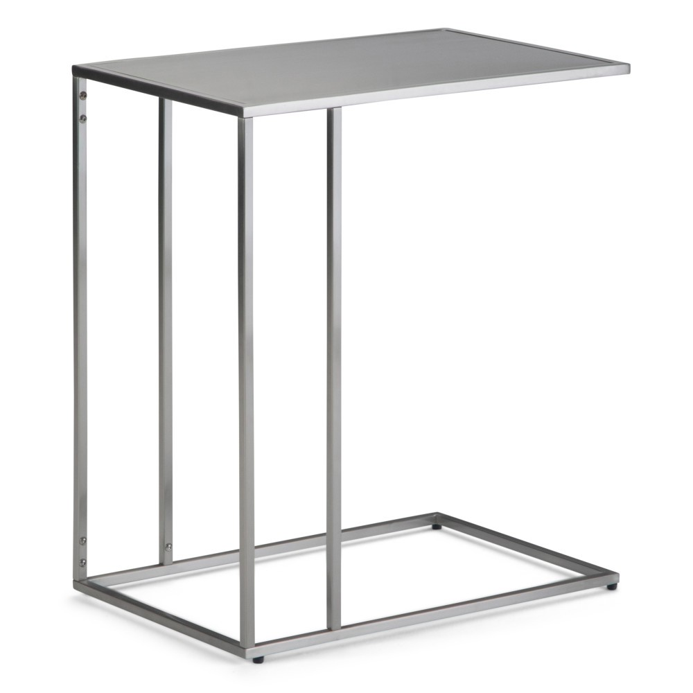 Daley C Side Table Stainless Steel (Silver) - Wyndenhall
