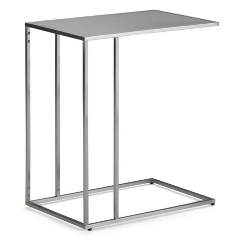 """20"""" Daley C Side Table Stainless Steel - Wyndenhall - image 1 of 4"""