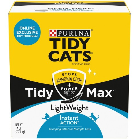 Tidy Cats Max Instant Action Lightweight 17lb - image 1 of 4
