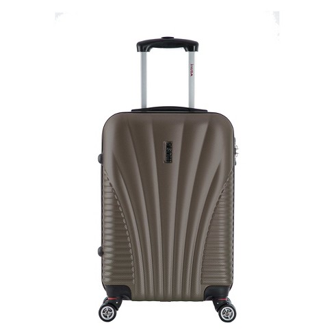 "InUSA Chicago 21"" Hardside Spinner Suitcase - Brown - image 1 of 4"