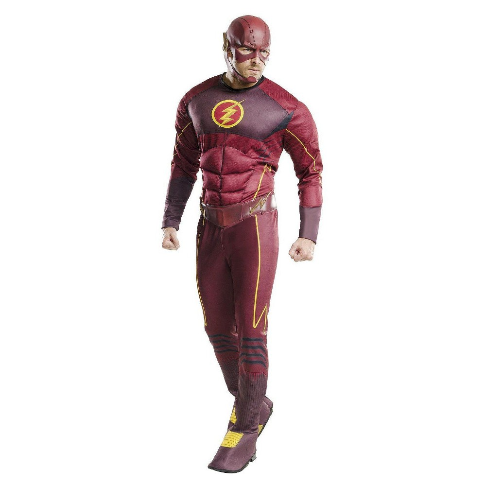 Men's DC Comics The Flash Muscle Chest Costume