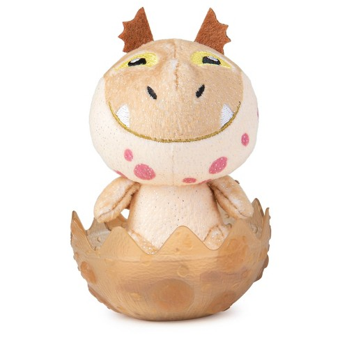 """DreamWorks Dragons Legends Evolved Baby Meatlug Collectible 3"""" Plush Dragon in Egg - image 1 of 3"""