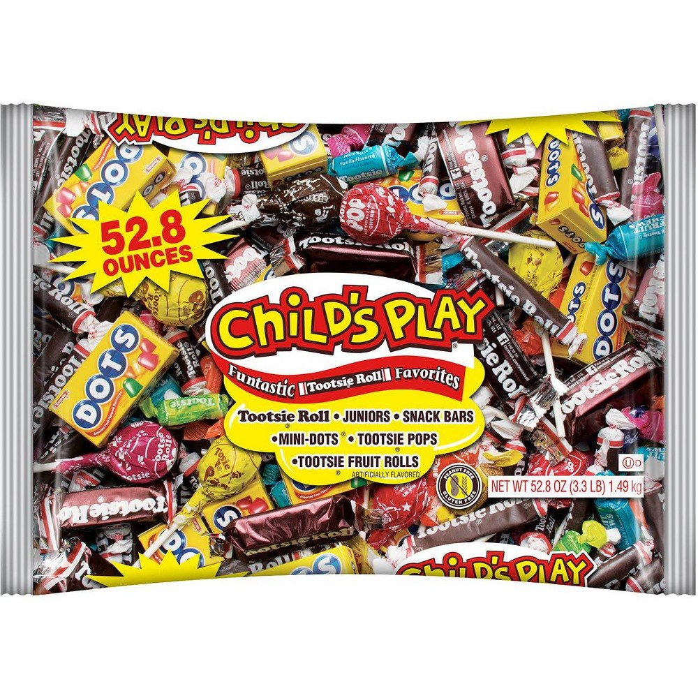Childs Play Halloween Candy Bag - 52.8oz