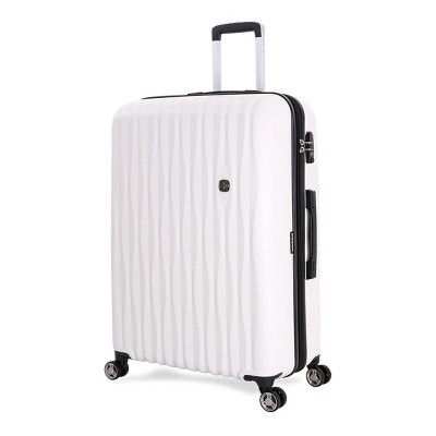SWISSGEAR Energie PolyCarb Hardside 28  Suitcase - White