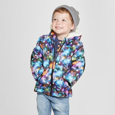 603496ded1ee Toddler Boys  Galaxy Softshell Jacket - Cat   Jack™ Black   Target