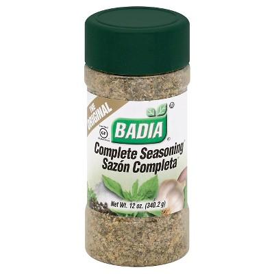 Badia Gluten Free Complete Seasoning - 12oz