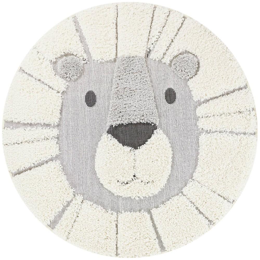 4 39 Lion Round Rug Balta Rugs