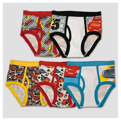 Boys' Cars 5pk Classic Underwear - 4