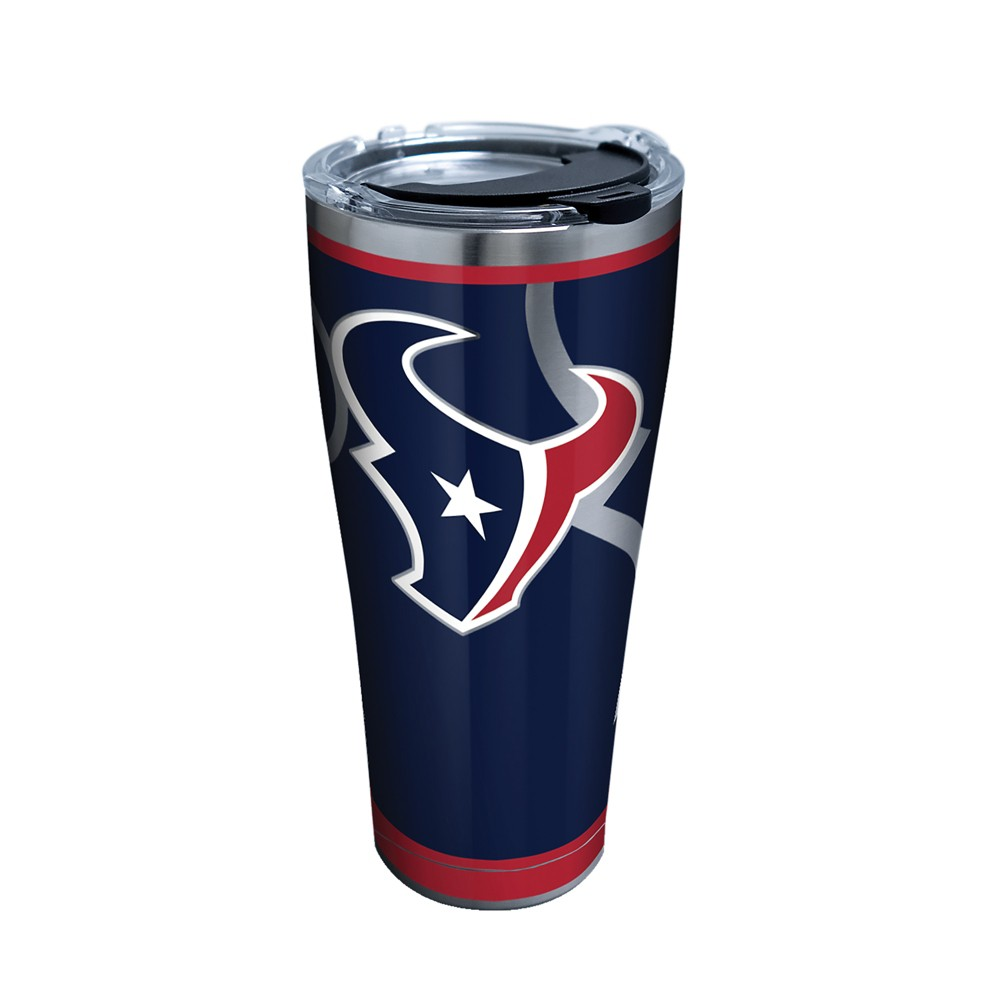 Tervis NFL Houston Texans Rush 30oz Stainless Steel Tumbler with lid