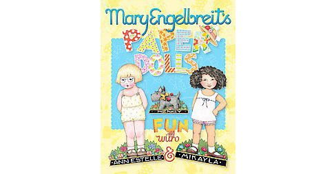 Mary Engelbreit's Paper Dolls : Fun With Ann Estelle and Mikayla (Paperback) - image 1 of 1