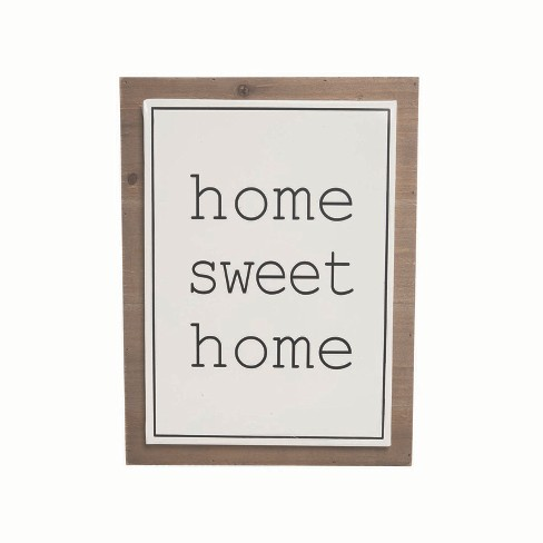 Home Sweet Home Wall Art - Foreside Home and Garden - image 1 of 2