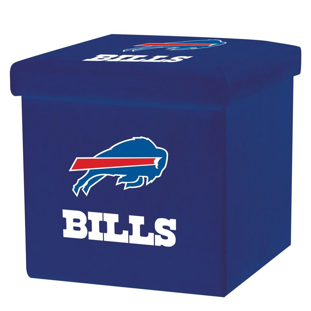 NFL Franklin Sports Buffalo Bills Storage Ottoman with Detachable Lid