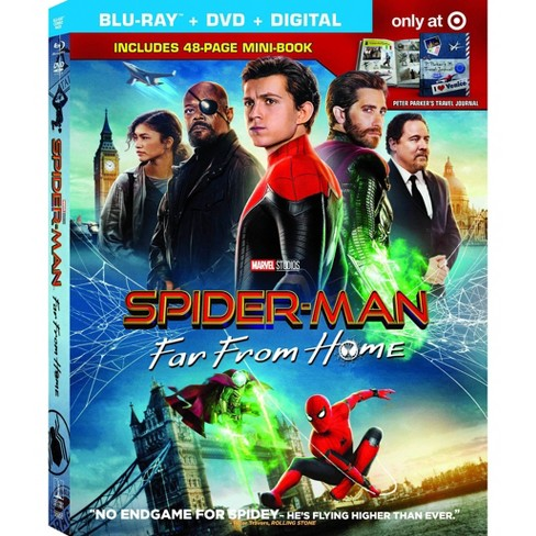 Spider-Man: Far From Home (Target Exclusive) (Blu-ray + DVD + Digital) - image 1 of 2
