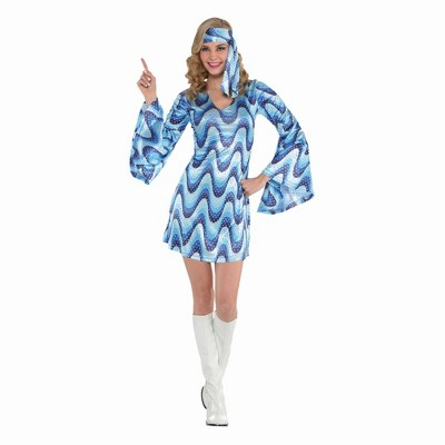 Adult Disco Lady Halloween Costume