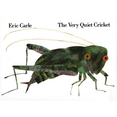 The Very Quiet Cricket - (Avenues) by  Eric Carle (Hardcover)