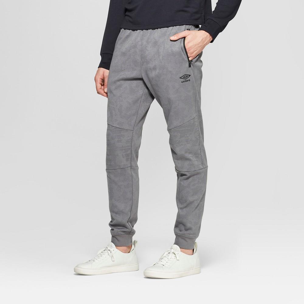 Umbro Men's Tech Pants - Industrial Grey S