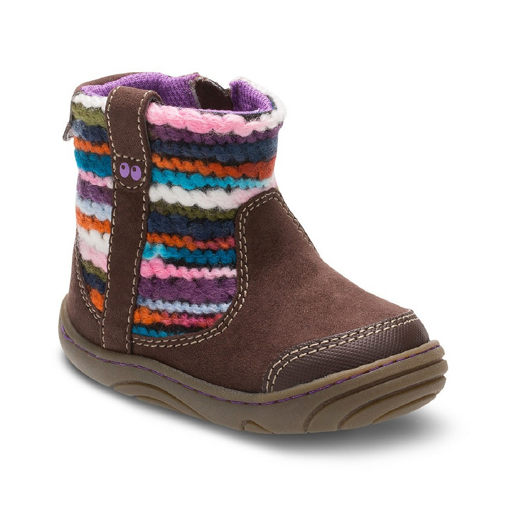 Baby Girls' Surprize by Stride Rite Adora Fashion Boots - Brown 4