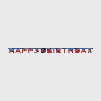 Spider-Man 6.5' Birthday Party Banner