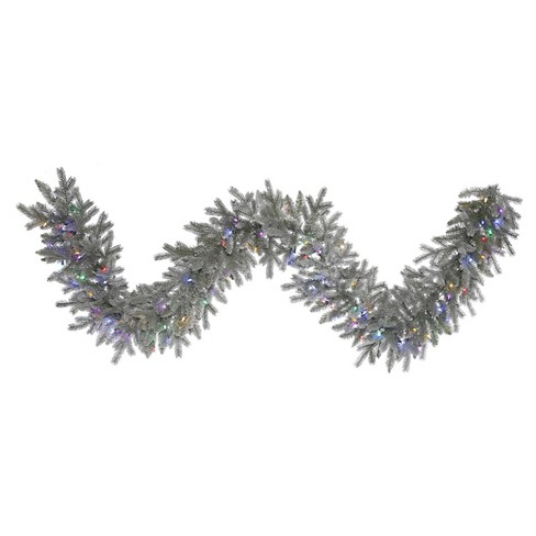 "9' x 14"" Sable Garland 100LED - Frosted - image 1 of 1"