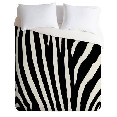 Natalie Baca Zebra Stripes Duvet Set