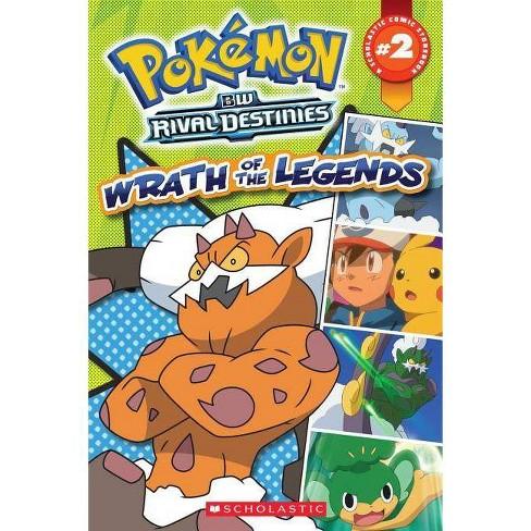 Pokemon Comic Reader #2: Wrath of the Legends - (Paperback)