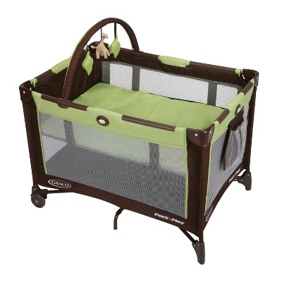 Graco Pack 'n Play On The Go Travel Playard - Go Green