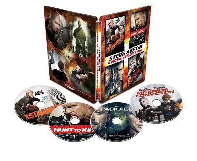 Steve Austin: 4 Movie Collection (SteelBook) (Blu-ray)
