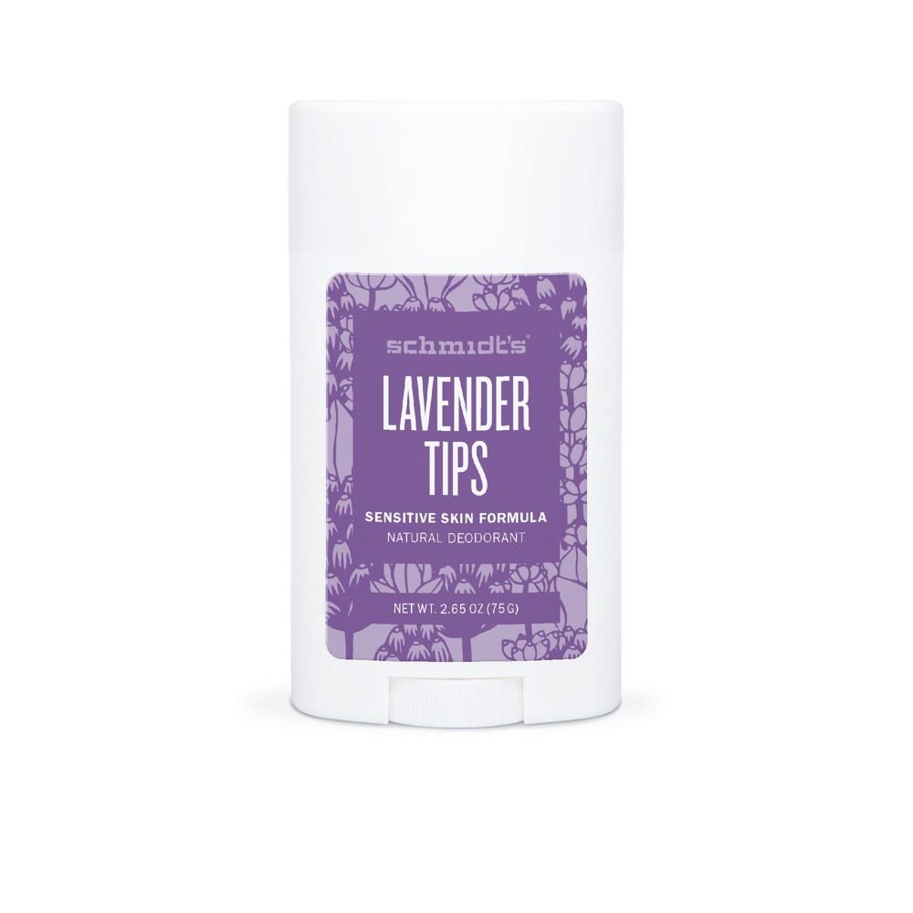 Schmidt's Lavender Tips Sensitive Skin Deodorant - 2.65oz