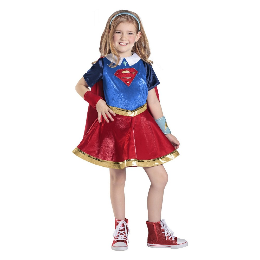 Image of Halloween Girls' DC Super Hero Girls Halloween Costume M, Girl's, Size: Medium, MultiColored