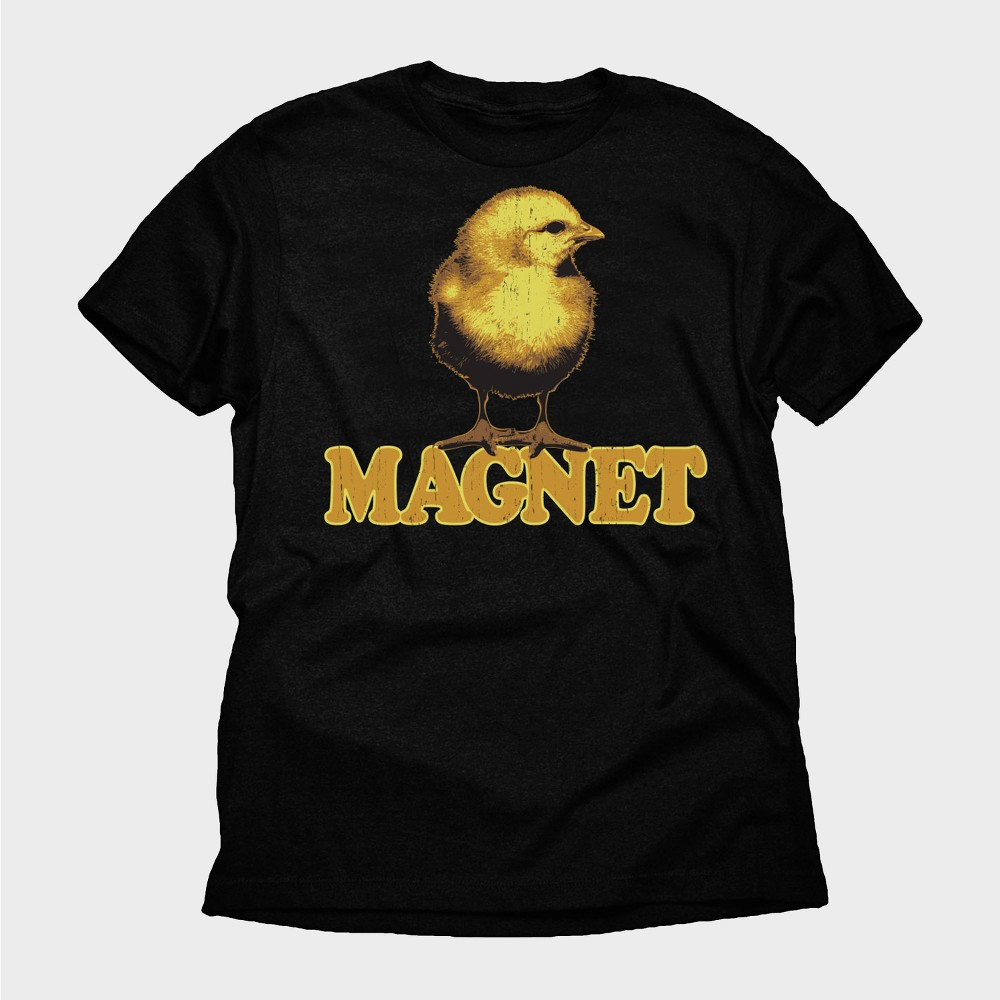 Men's Chick Magnet Short Sleeve Graphic T-Shirt - Black 2XL