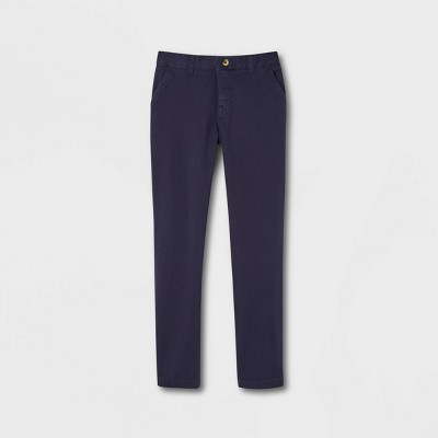 French Toast Young Men's Uniform Chino Pants - Navy