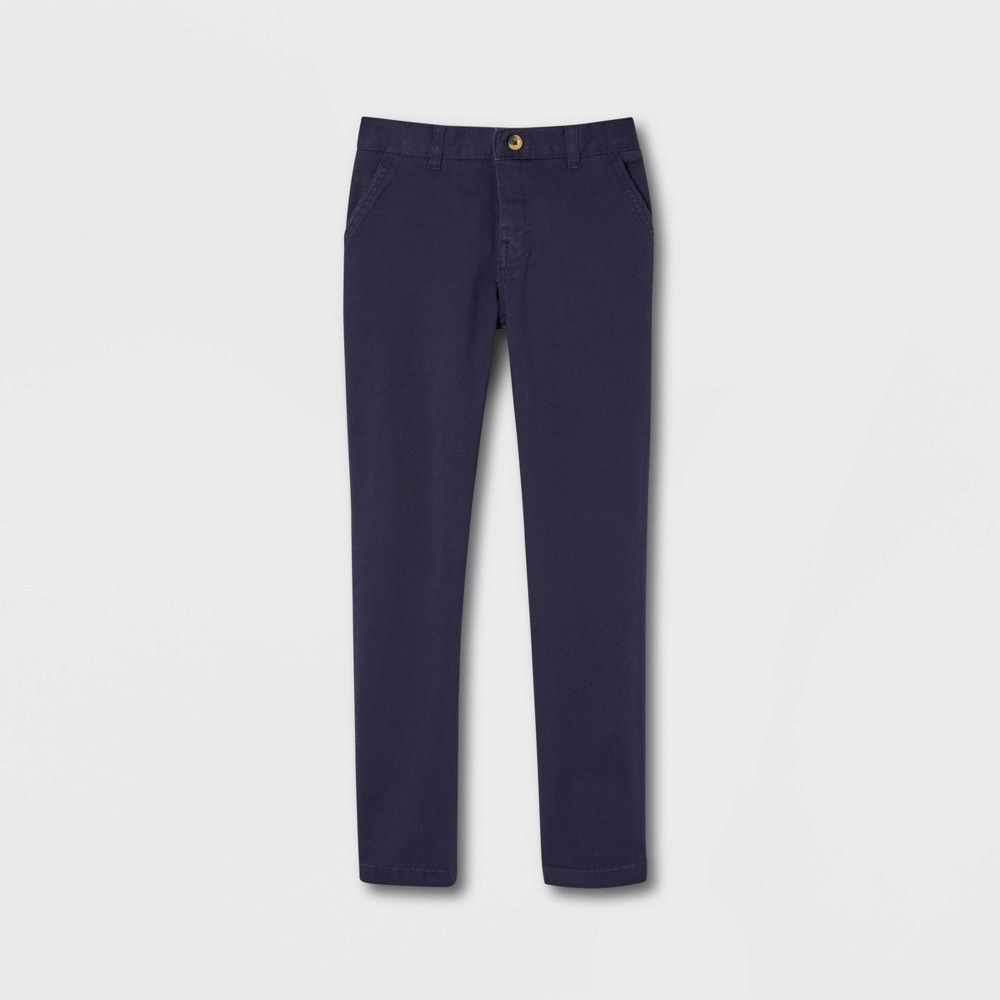 French Toast Young Men 39 S Uniform Chino Pants Navy 34x32