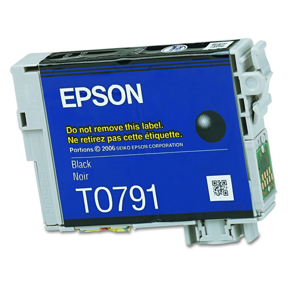 Epson 79 Single Ink Cartridge - Black (EPST079120) Brilliant color is delivered with the Epson Clara High-Capacity Ink Cartridge - Black (EPST079120). The Epson printer ink works with high-volume print jobs to deliver consistent color on your professional and home-based print jobs. The printer ink cartridge is compatible with the Epson Stylus Photo 1400.