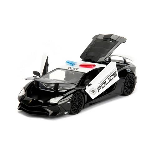 Hyperspec Diecast Lamborghini Aventador SV Police - 1:24 Scale - image 1 of 4