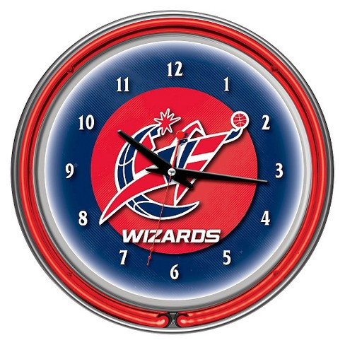 Washington Wizards Team Logo Wall Clock - image 1 of 1