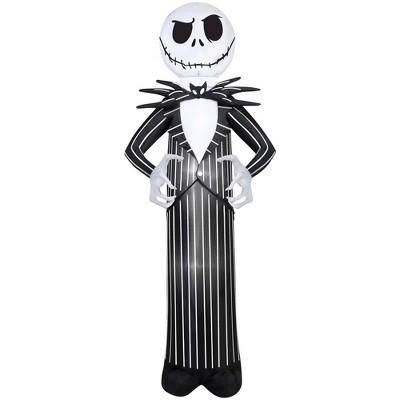 7' Inflatable Disney Nightmare Before Christmas Jack Skellington Halloween Decoration