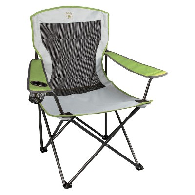 Coleman® Cool Mesh Quad Chair with Carrying Case - Green