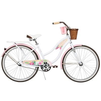 """Huffy Women's Panama Jack 26"""" Cruiser Bike - White"""