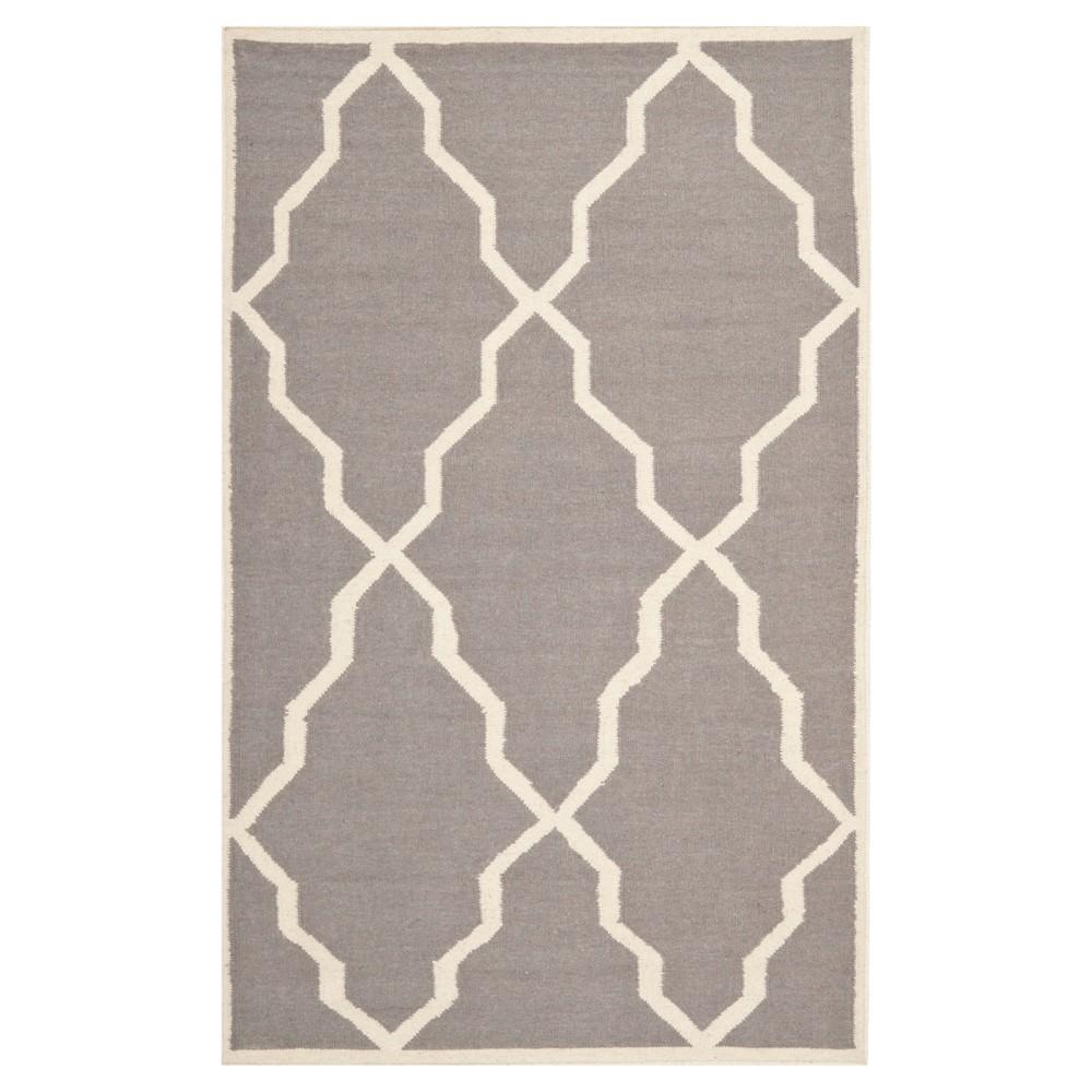 Buy Nadia Dhurry Rug - Gray Ivory - (3x5) - Safavieh