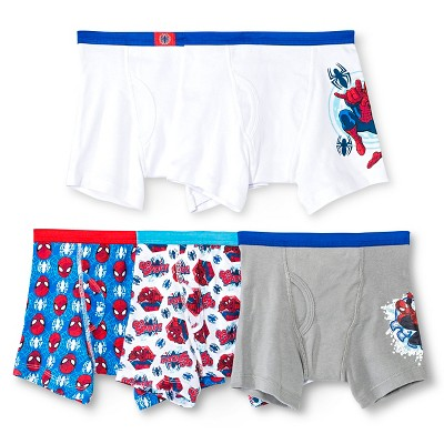 Boys' Spider-Man 5pk Boxer Briefs - 8