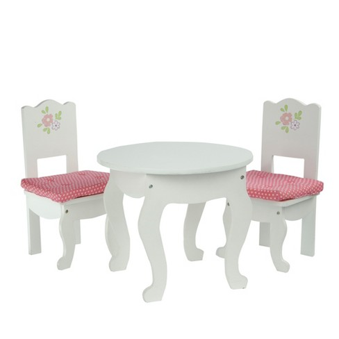"Olivia's Little World - Little Princess 18"" Doll Furniture - Table & 2 Chairs Set - image 1 of 6"