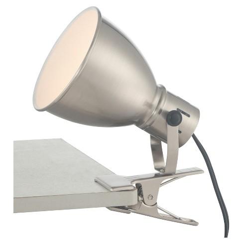 Kiefer Desk Lamp Brushed Nickel (Includes Energy Efficient Light Bulb) - Lite Source - image 1 of 2