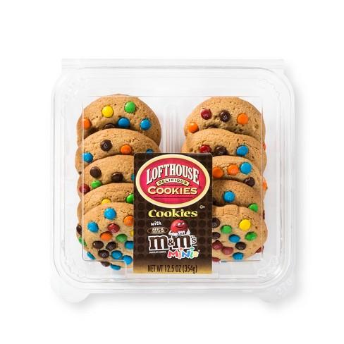 Lofthouse M M Cookies 12 5oz Target